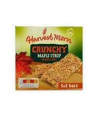 5x2 Crunchy Maple Syrup Granola Bars
