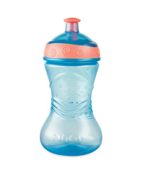 Nuby Blue 18 Months+ Pop Up Beaker