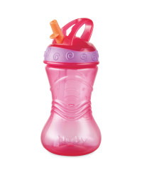 Nuby Pink 12 Months+ Flip It Beaker