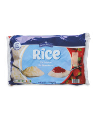6 Pack Original and Strawberry Rice