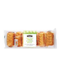6 Puff Pastry Cheese & Onion Rolls