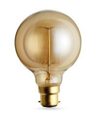 60W G80 Antique Globe Light Bulb