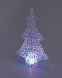 65cm Northern Lights Acrylic Tree