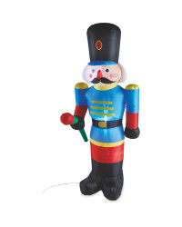 6Ft Christmas Inflatable Nutcracker