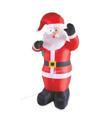 6Ft Christmas Inflatable Santa