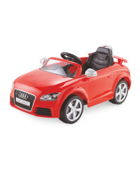 Red 6V Audi TT RS Ride-On