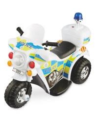 Kids' at Play 6v Ride On Police Bike