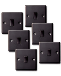 6x Single Switches