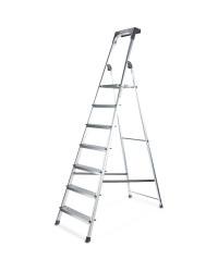 Workzone 7 Step Aluminium Ladder