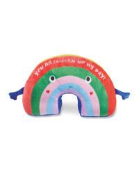 Rainbow Valentine's Soft Toy