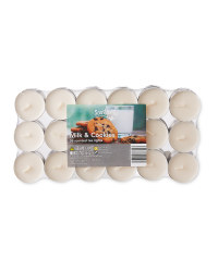 Milk & Cookies Tea Lights 36 Pack