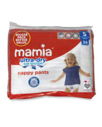 Nappy Pants Junior Jumbo Size 5