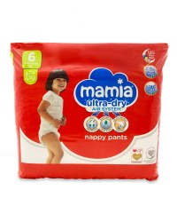 Mamia Easy Pants Size 6 32 Pack
