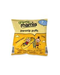Mamia Organic Parsnip Puffs 20g