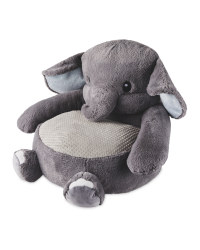 Plush Elephant Animal Chair