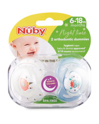 Nuby Monster Soothers 6-18 Months