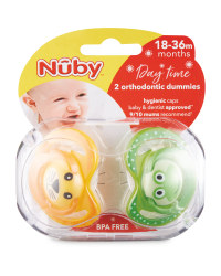 Nuby Frog Soothers 18-36 Months