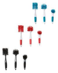 Kirkton House Kitchen Brush 3 Pack