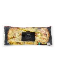 Pesto, Tomato & Mozzarella Flatbread