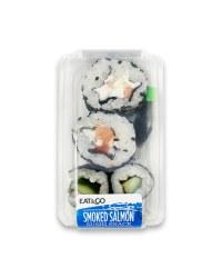 Smoked Salmon Sushi Snack