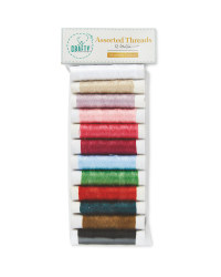 So Crafty Colourful Threads 12 Pack