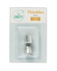 So Crafty Thimble 2 Pack