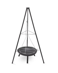 Gardenline Tripod Camping Fire Pit