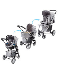 My Babiie 3 In 1 Travel System