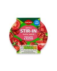 Tomato & Bacon Stir In Pasta Sauce