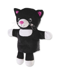 Black Cat Hand Puppet