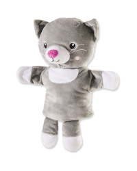Grey Cat Hand Puppet