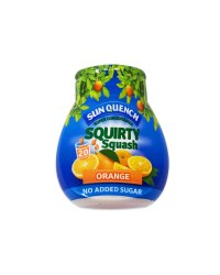 Orange Concentrated Squirty Squash