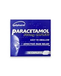 Paracetamol Caplets 16 Pack