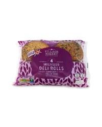 4 Multi Seed Deli Rolls