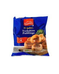 Golden Yorkshire Puddings