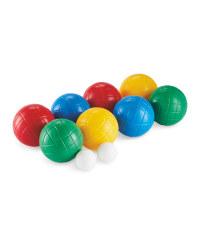 Primary Colour Boules Set