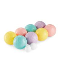 Pastel Colour Boules Set