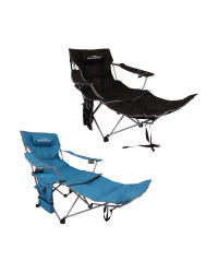 Deluxe Camping Chair With Footrest