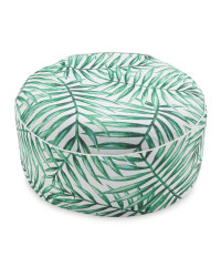 Green Leaf Inflatable Ottoman