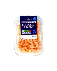 Cooked & Peeled Coldwater Prawns