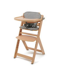 Mamia Natural Wooden Highchair