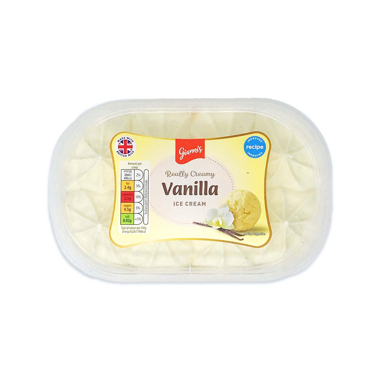 Really Creamy Vanilla Ice Cream