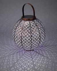 Copper Jasmine Style Solar Lantern