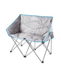 Grey Twin Camping Chair