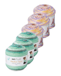 Cotton Candy & Mint Yarn 6 Pack