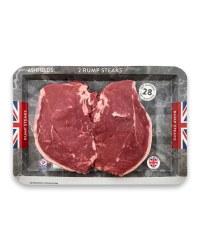 28 Days Matured Rump Steak Twin Pack