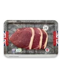 28 Day Matured Thin Cut Beef Steak