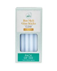 So Crafty Long Glue Sticks 100 Pack