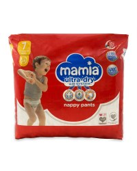 Mamia Nappy Pants Size 7 28 Pack