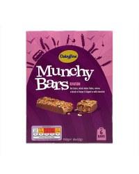 Raisin Munchy Bars